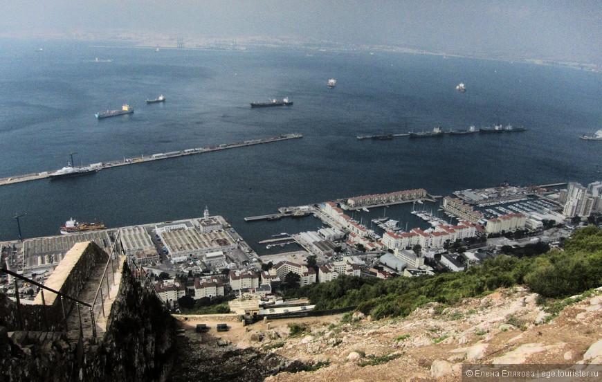 Виды с Гибралтарской скалы