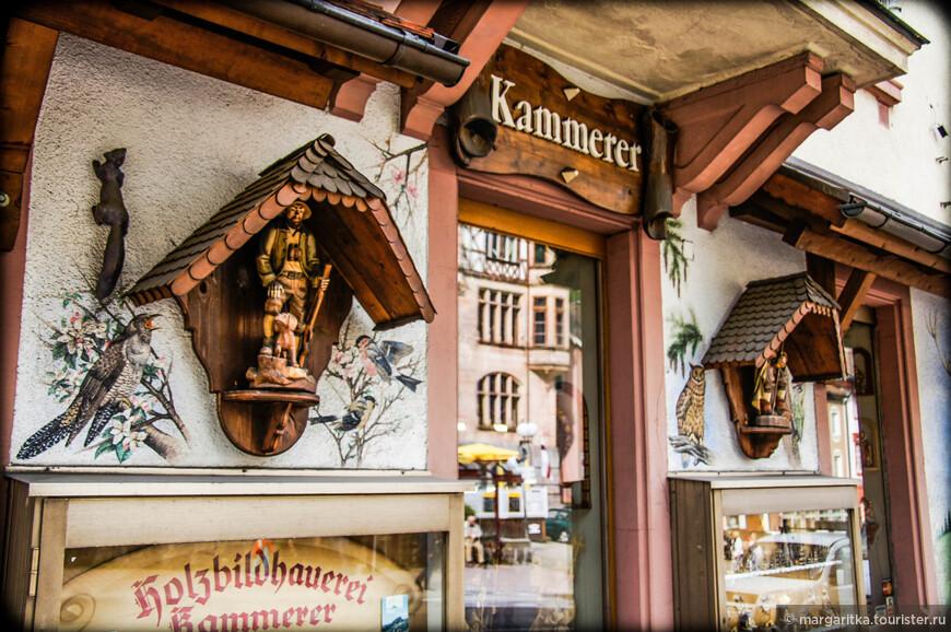 сувенирный магазин напротив Ратуши