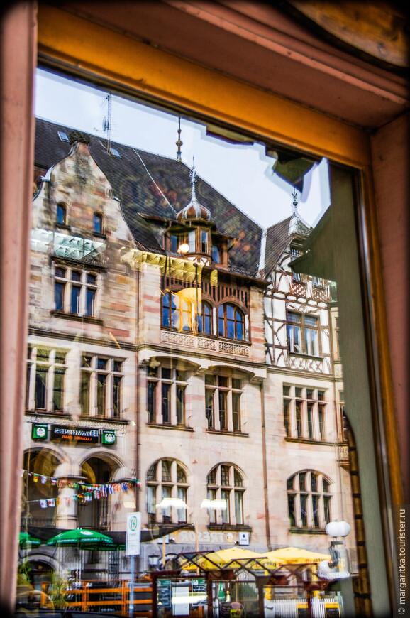 отражения в окнах Триберга