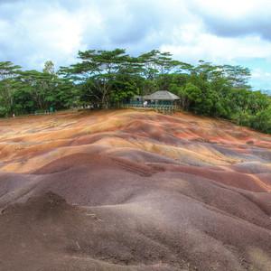 Разноцветное чудо - Маврикий...