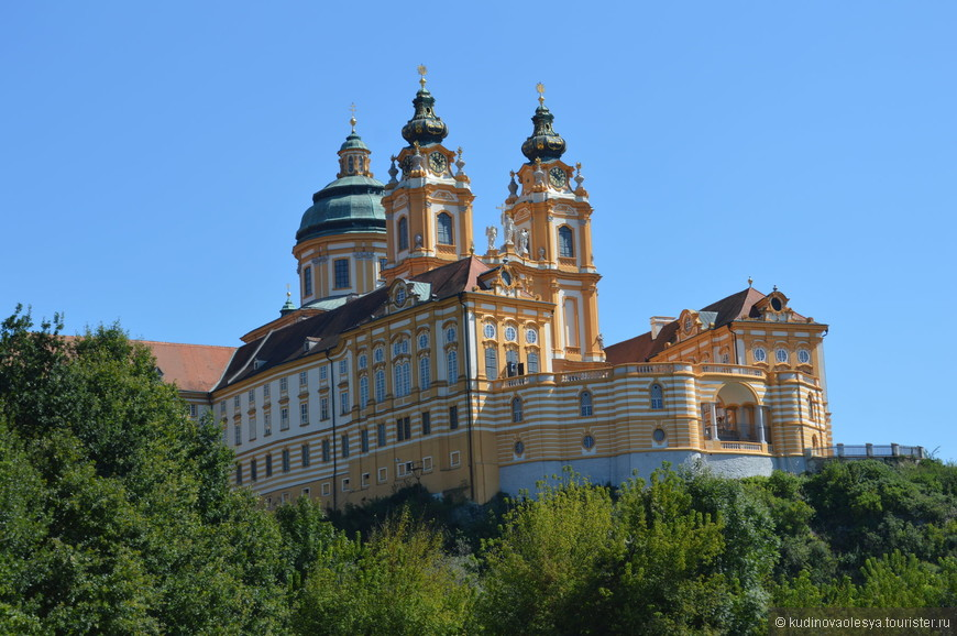 порт на Дунае - Мельк, Австрия