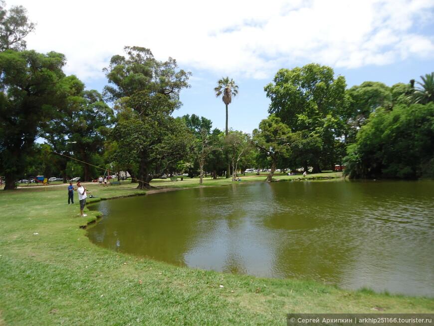 Парк Трес в Буэнос-Айресе