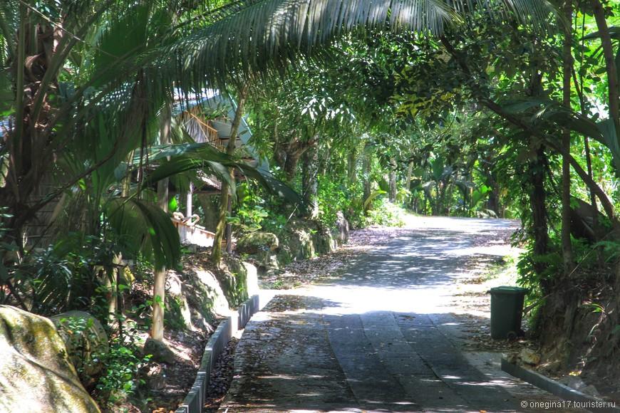 Первым пунктом нашей экскурсии было посещение Майской долины. Дороги Праслина впечатлили своей  незамысловатостью.