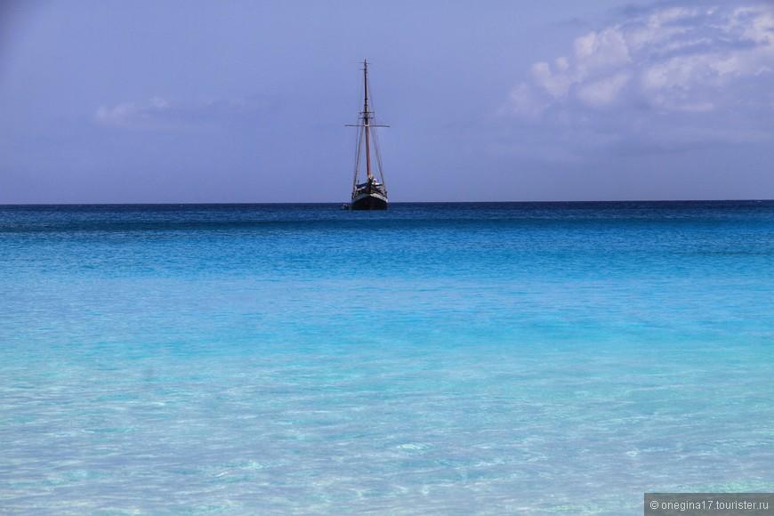 На Сейшелах не стоит пренебрегать кремом с защитой от солнца, причем уровень нужно брать очень высокий - красота природы не спасает от жгучего солнца!