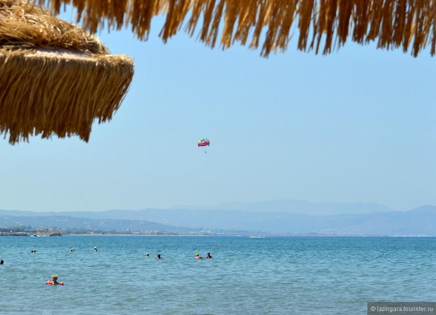Пляж в Агии Марине