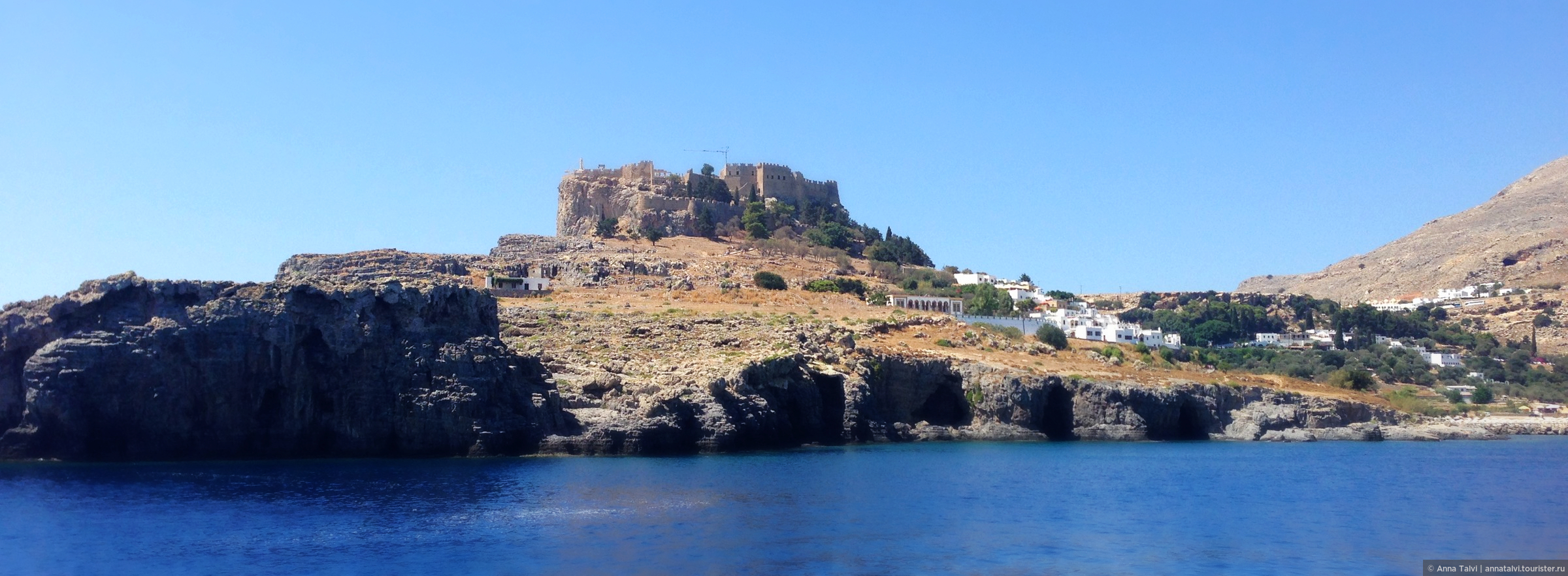Остров родос линдос