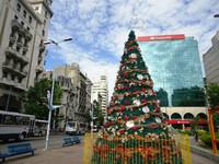 В столице Уругвая -Монтевидео на Новый 2015 г