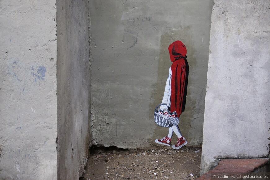 Девочка в красном.