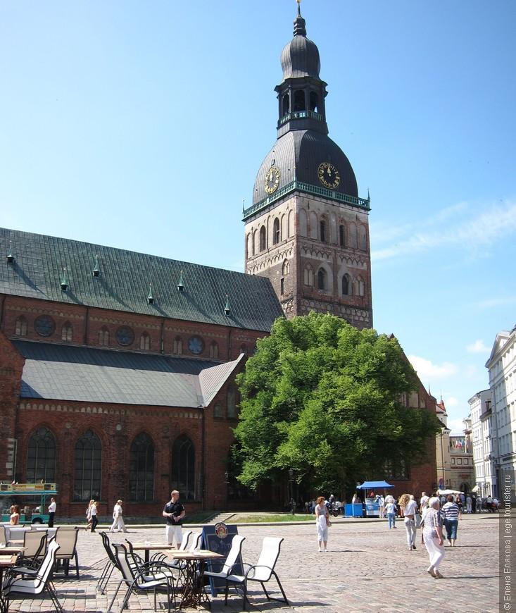 07. Домский собор (первый собор построен в 13 веке)