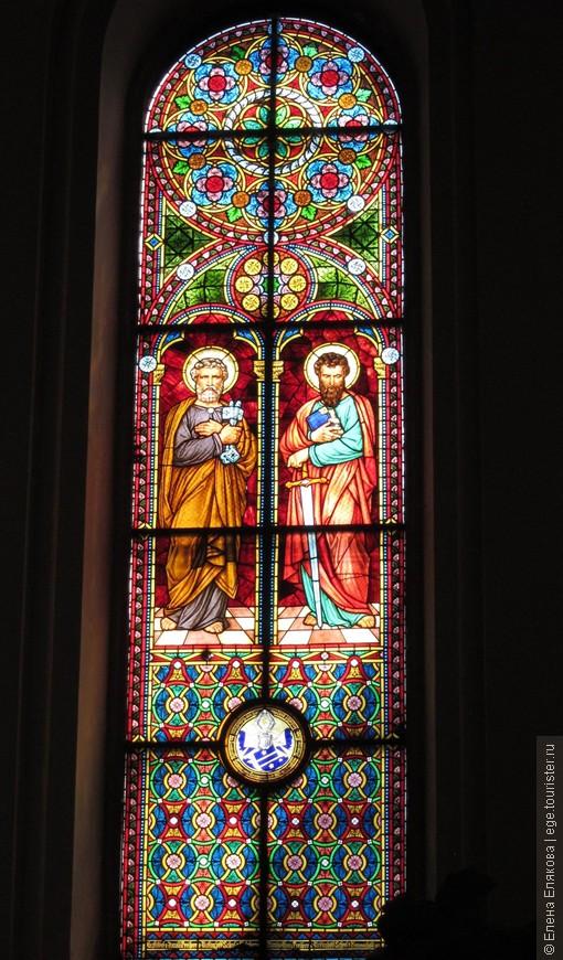 12. Витражи Домского собора