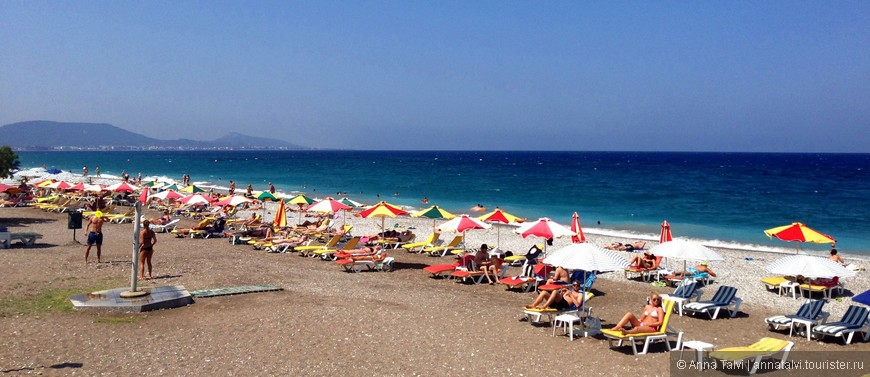 Пляж Эгейского моря