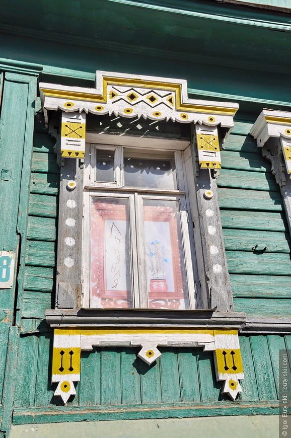 18. А вот и легендарные костромские окна. Это настоящая особенность и гордость города.