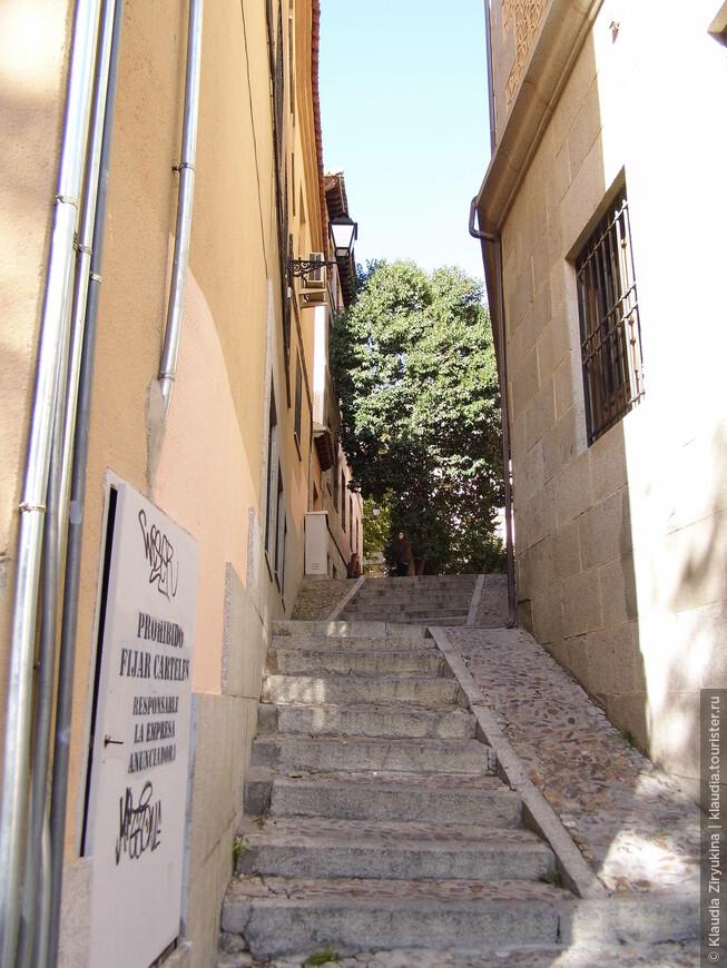 500-летняя лестница.