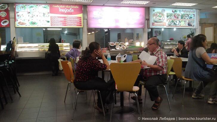 Как дёшево поесть в аэропорту Суварнабхуми