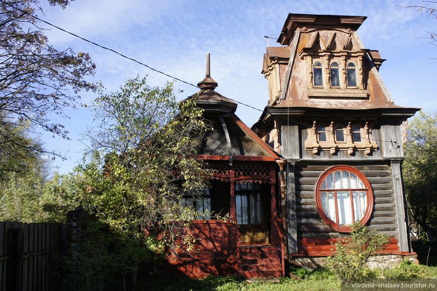 Дом А.Е.Рыбкина (1912 г.) на набережной Фадеева.