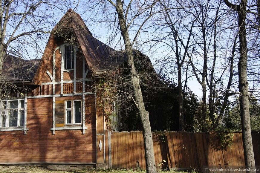 Один из домов на улице Орджоникидзе.