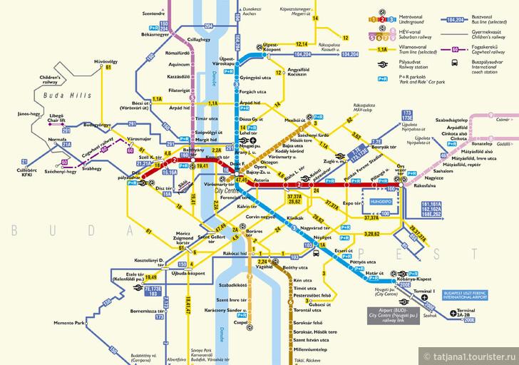 Как пользоваться общественным транспортом в Будапеште