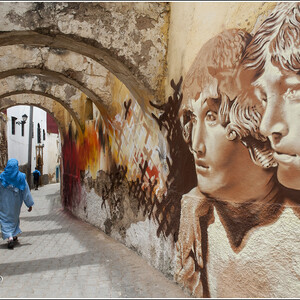 Стрит-арт по-африкански (Марокко)