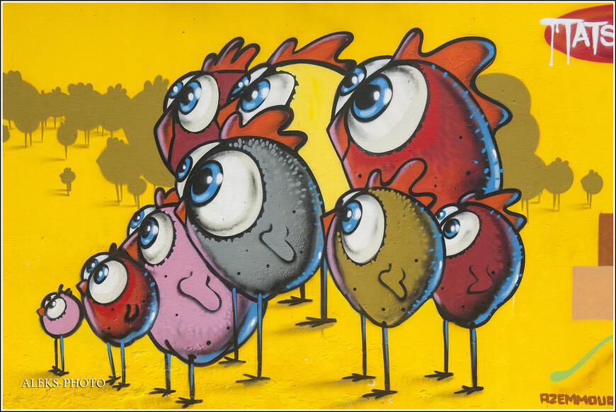 Вот эти яйцеголовые с выпученными глазами - настоящий хит.