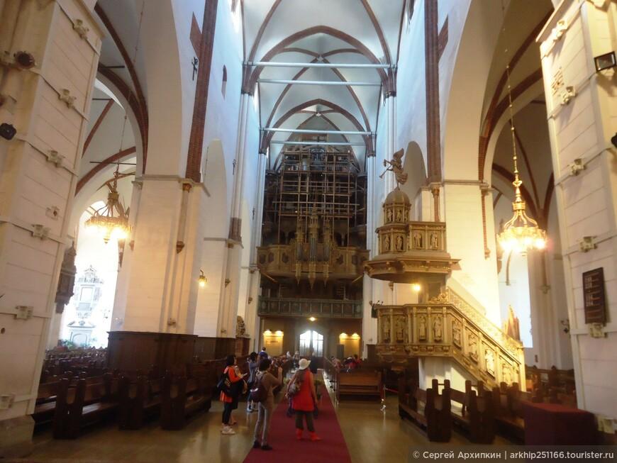 В Дуомском соборе Риги
