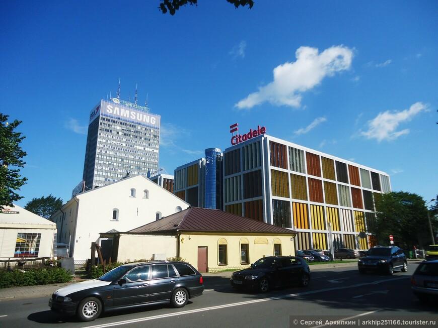 В центре Риги