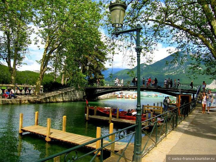 Что посмотреть в окрестностях Женевы? Конечно же Анси - Альпийская Венеция