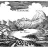 оз. и село Мондзее на старом изображении