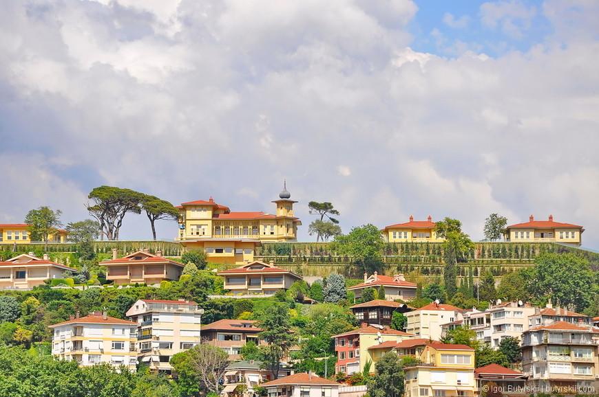 18. Элитное частное жилье в Стамбуле с великолепными видами. Архитектура тоже радует, действительно отличные домики.