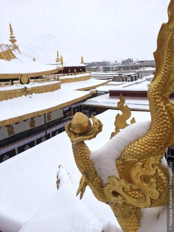 Драгоценный Джоканг, Лхаса, Тибет