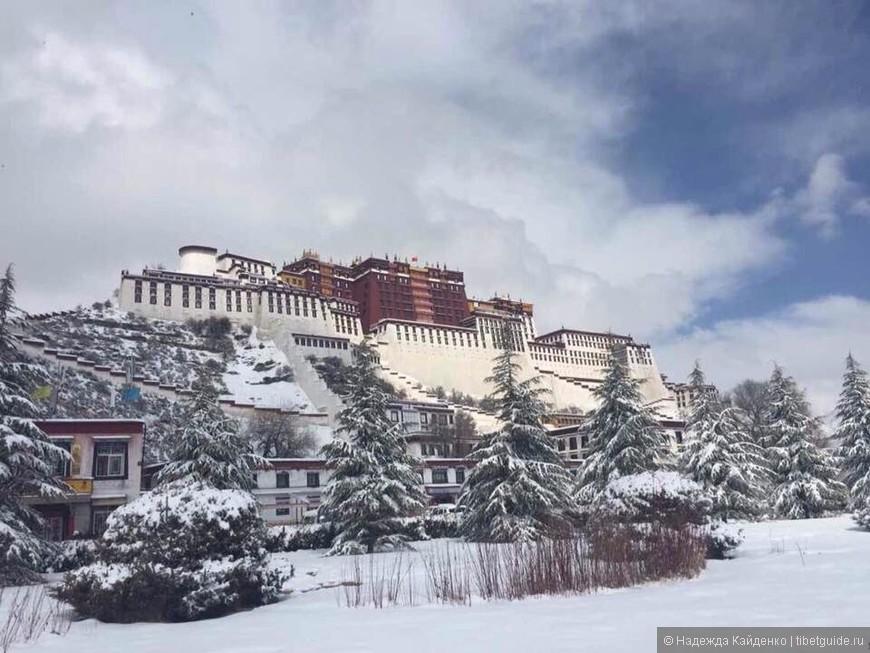 Дворец Потала в Лхасе, Тибет