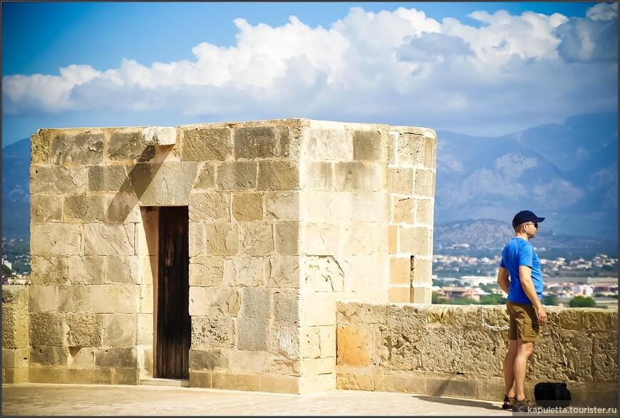 Строительство этого замка началось в 1309 году. Он хорошо сохранился. Прогулки по периметру крыши  открывает панорамные виды города.