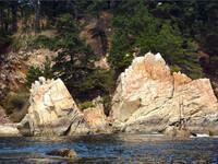 Скалистые берега Рамунчо