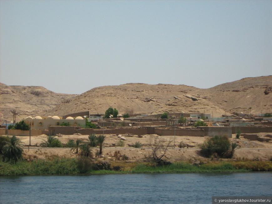 Типичный египетский пейзаж.