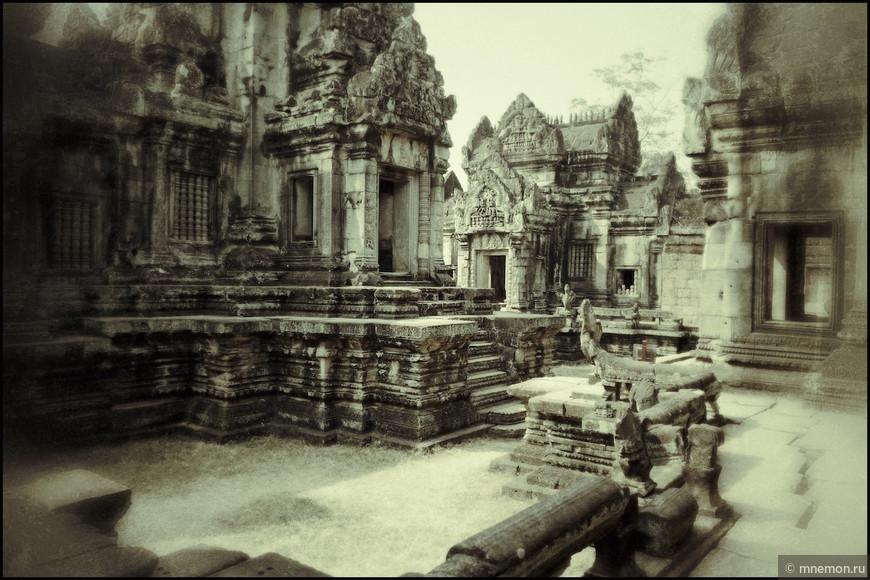 Некоторые храмы в невероятно хорошем состоянии
