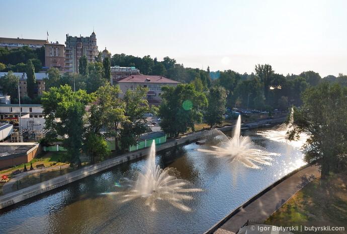 01. Липецк это город фонтанов, и понимаешь это как только въезжаешь в центр города.