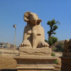 Карнакский храм. Луксор.