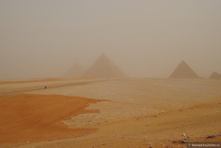 Панорама на Великие Пирамиды