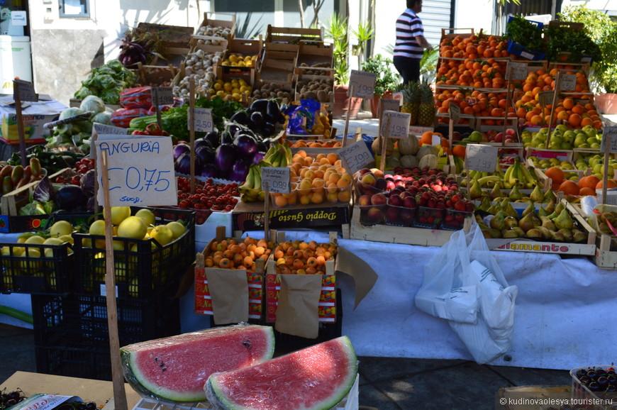 местный рынок Палермо