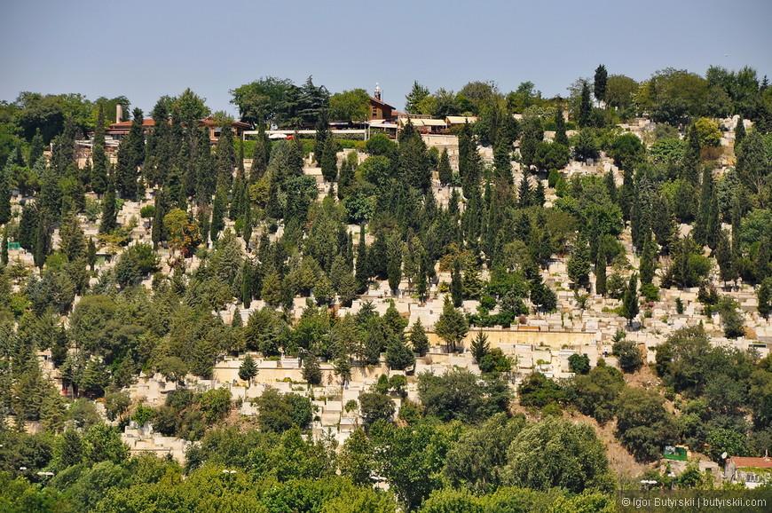36. Специфика организации местных кладбищ – захоронения располагаются на склонах гор.