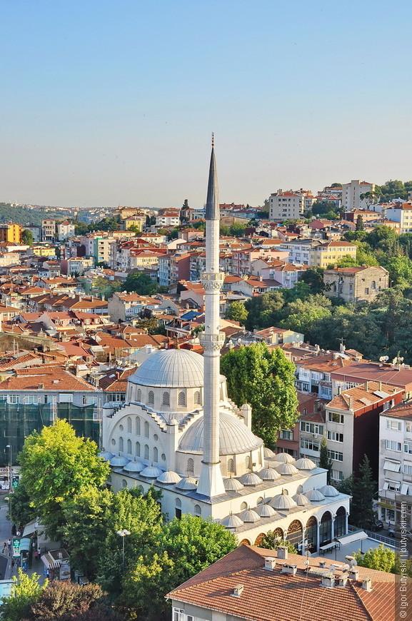 37. Мечети Стамбула это вообще отдельная тема, они все построены по одинаковому образцу, различаются размерами и количеством минаретов, вот самая маленькая.