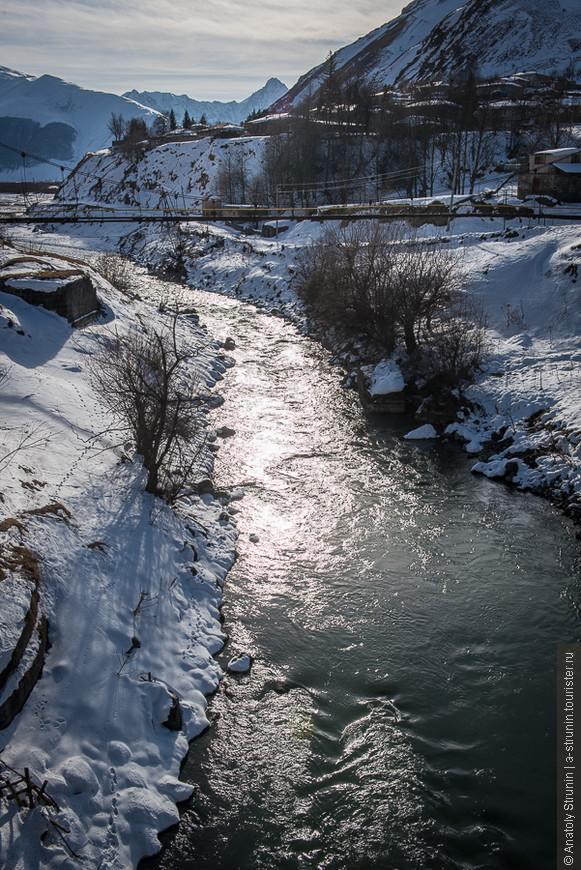 Село Казбеги.
