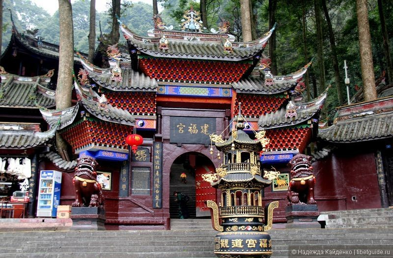 даосский храм, место поклонения богу богатства