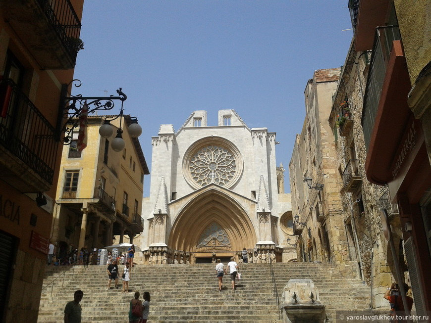 Кафедральный собор Таррагоны Святой Девы Марии. Построен в 1331 году.