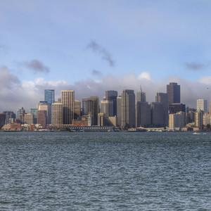 Сан-Франциско  - город на 46 холмах.