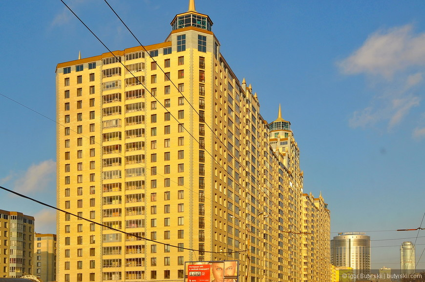 02. Высотные доминанты в городе присутствуют в достаточном количестве, и жилое строительство не отстает.