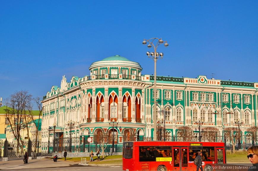31. Дом Севастьянова переделывался в 2008 году под резиденцию Президента России к саммиту ШОС.