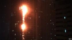 В Дубае горел один из самых высоких небоскребов мира