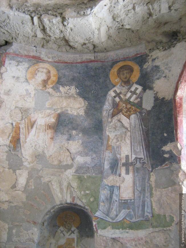 Фрески в церкви Святого Николая.