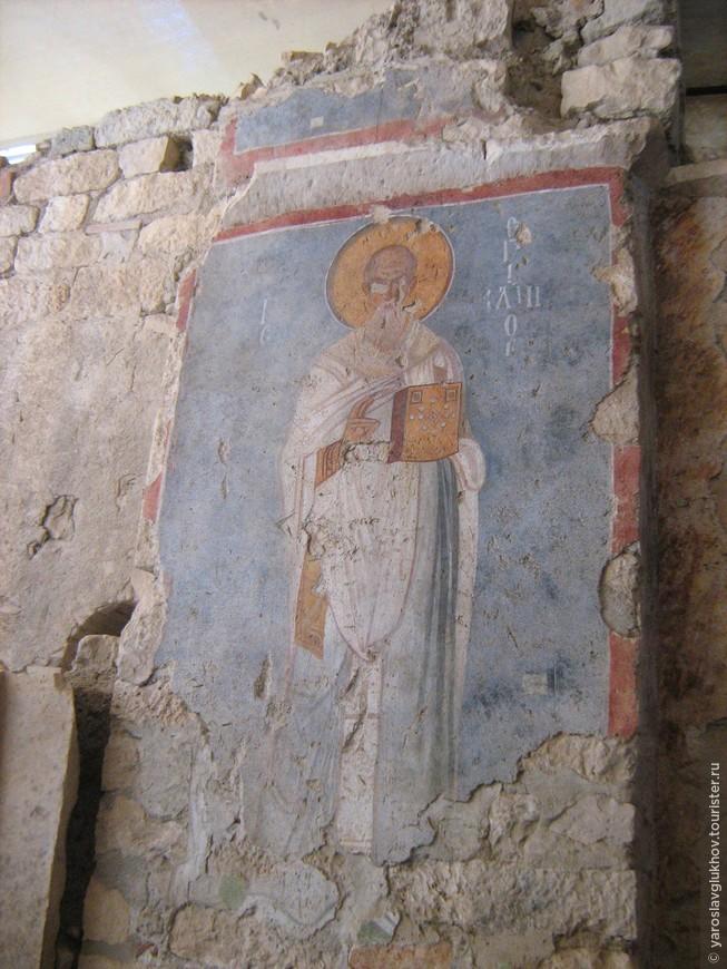 Фреска Святого Николая.