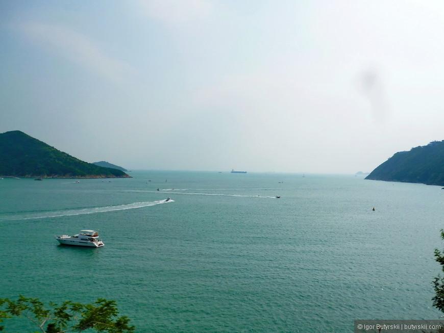 09. В составе Гонконга входят около 240 островов, все находятся в Южно-Китайском море. Со стороны района Стенли многие отлично видны.